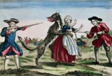 Охота на оборотней во Франции
