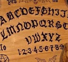 Изображение доски для окультизма