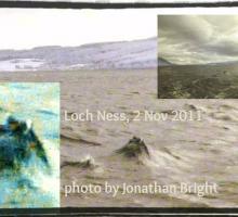 Фотография лохнесского чудовища сделанная Джонатаном Брайтом